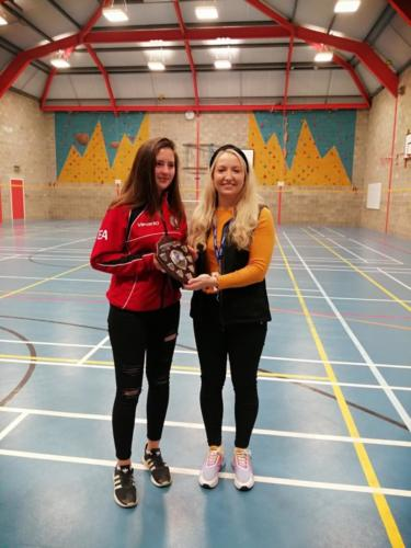 S1-3 Netball Tournament Trophy May 2019