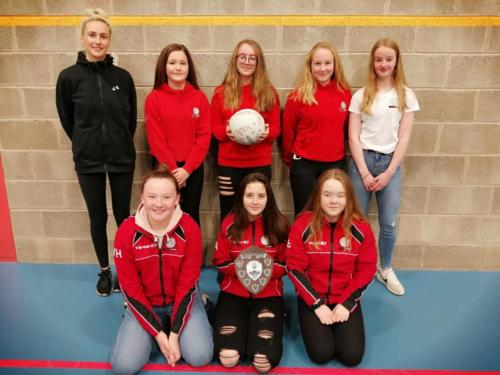 S1-3 Netball Tournament Winners May 2019